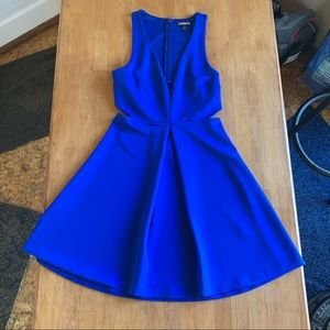 Royal blue Express Mini Dress!